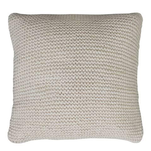 Gallery Grey Opal Knitted Cushion 45x45cm