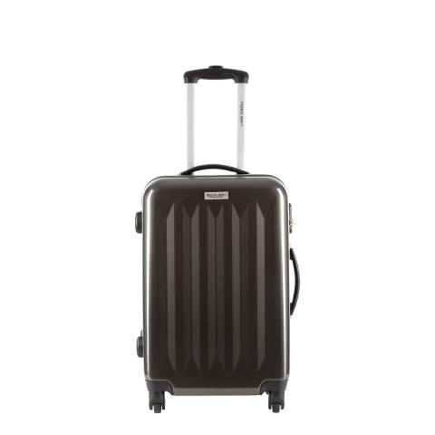 Travel One Grey Spinner Wheel Suitcase 50cm