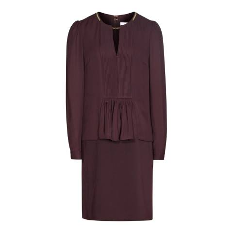 Reiss Berry Daze Chain Neck Dress