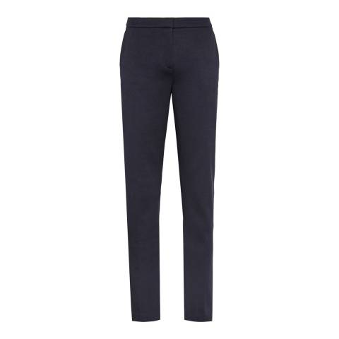 Reiss Night Navy Portman Straight Leg Trouser