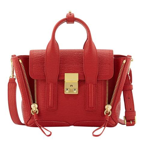 3.1 Phillip Lim Red Mini Pashli Leather Bag