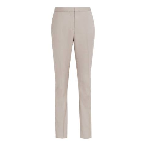 Reiss Grey Truman Tailored Trousers