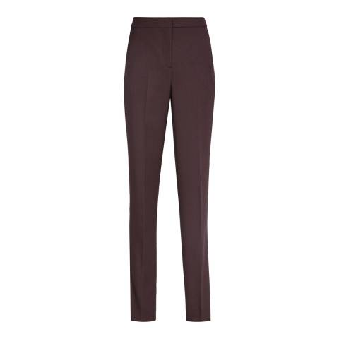 Reiss Red Nada Tailored Trousers