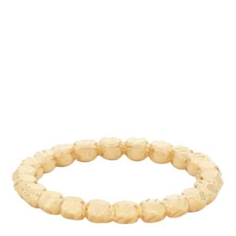 Reiss Gold Lula Moon Ball Ring