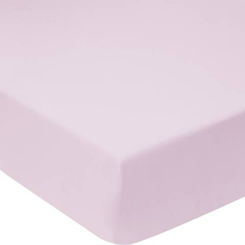Sheridan 300TC Percale King Fitted Sheet, Thistle