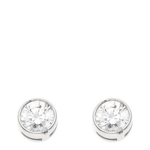 Wish List Silver Zirconium Earrings