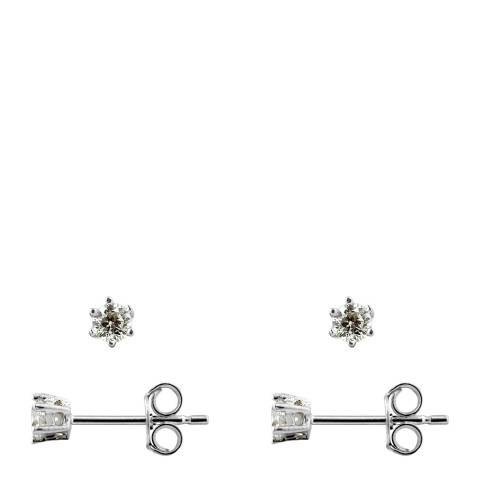 Wish List Silver Zirconium Earrings