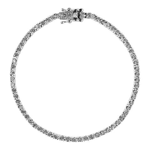 Wish List Silver Zirconium Bracelet