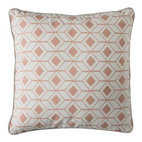 Gallery Blush/White Hagen Geo Cushion