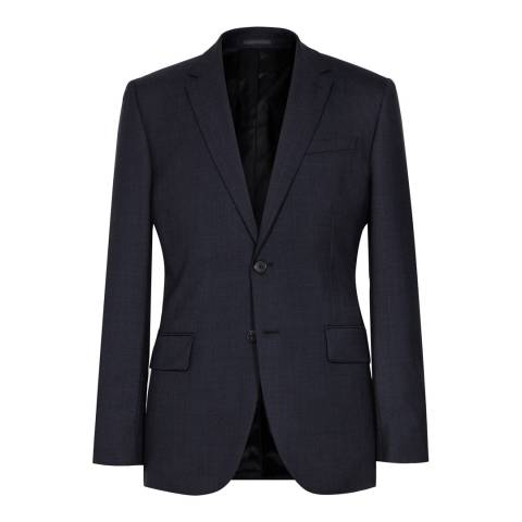 Reiss Navy Woollen Modern Fit Suit Jacket