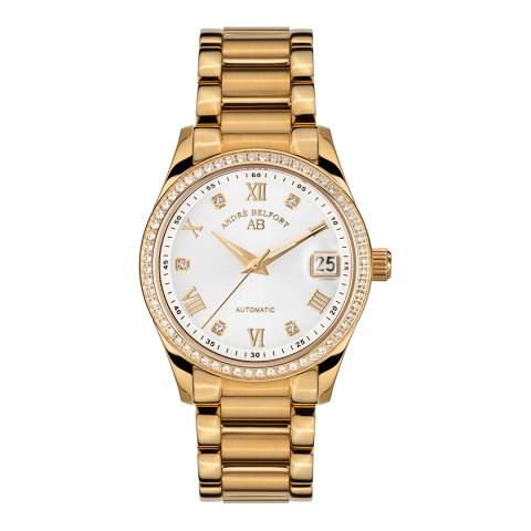 Andre Belfort Women's Gold Watch