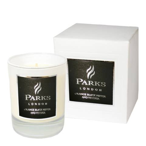 Parks London Orange, Black Pepper And Vetiver Candle 30cl