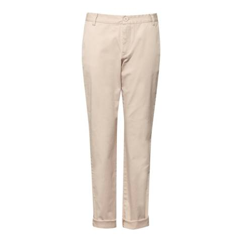 Great Plains Egyptian Cotton Cream Trousers