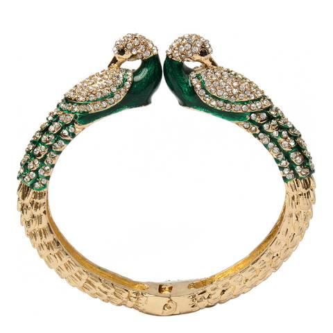 Amrita Singh Peacock Emerald Cuff