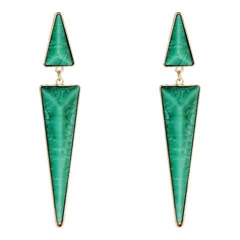 Amrita Singh Northampton Turquoise Thin Earrings