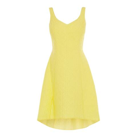 Coast Lemon Gracina Jacquard Dress
