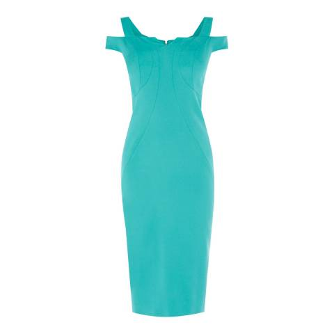 Coast Teal Suzie Glamour Shift Dress