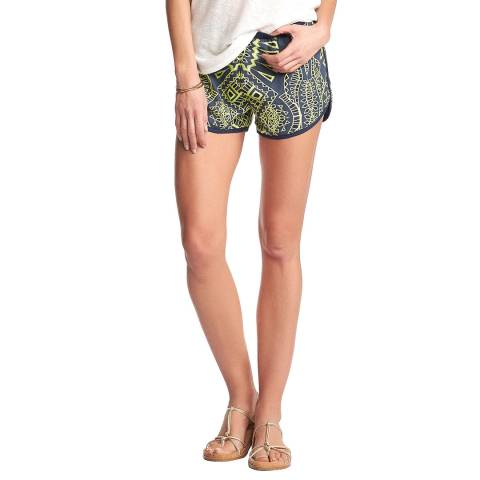 Tart Collections Blue Multi Braylee Shorts