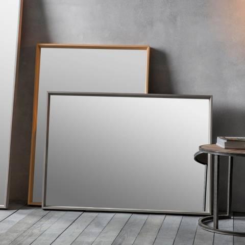 Gallery Grey Comet Wall Mirror 104x74cm