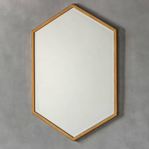 Gallery Antique Gold Helston Mirror 60 x 90cm