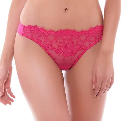 Wacoal Hot Pink Enchanting Tanga