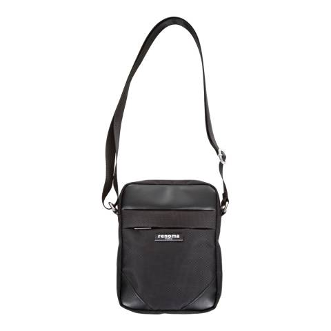 Renoma Small Black Shoulder Bag