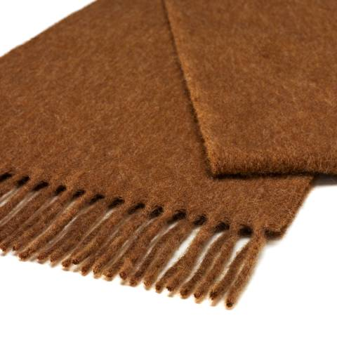Bronte by Moon Chocolate Plain Scarf