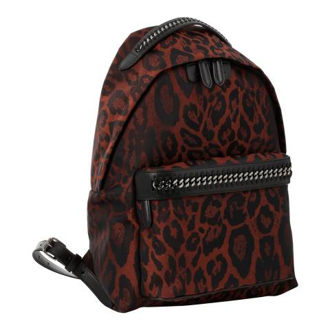 Stella McCartney Leopard Small Falabella Backpack