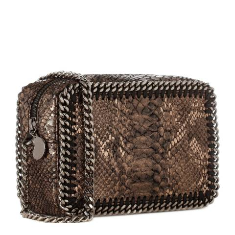 Stella McCartney  Metallic Python Falabella Crossbody Bag