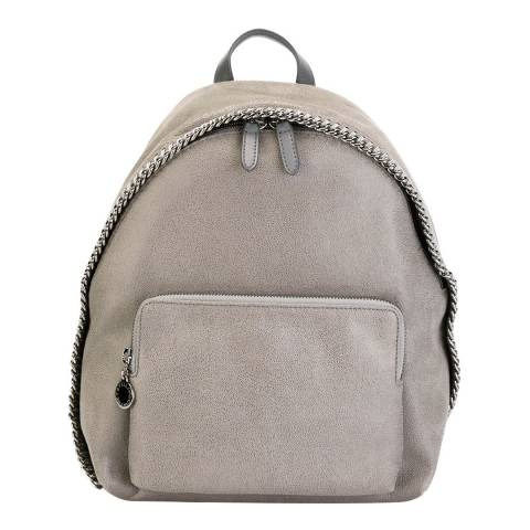 Stella McCartney Light Grey Small Falabella Backpack