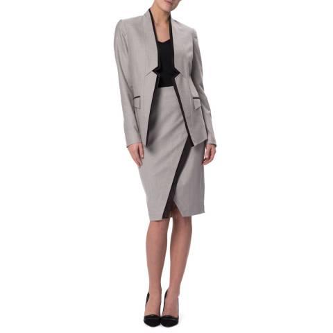 WTR London Grey Marylebone Layer Skirt