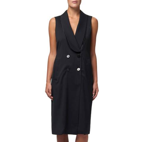WTR London Black Marylebone Blazer Dress