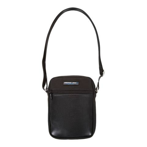 Travel One Small Black Shoulder Bag