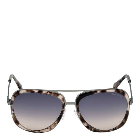 Tom Ford Men's Andy Brown/Graduated Smoke Sunglasses 59mm
