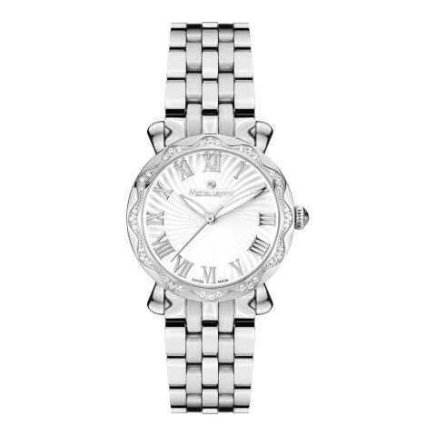 Mathieu Legrand Women's Silver Stainless Steel Les Vagues Watch