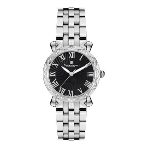Mathieu Legrand Women's Silver Stainless Steel Les Vagues Watch