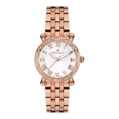 Mathieu Legrand Women's Rose Gold Stainless Steel Les Vagues Watch