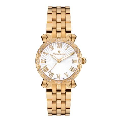 Mathieu Legrand Women's Gold Stainless Steel Les Vagues Watch