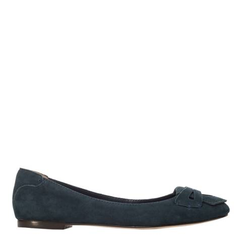 Leon Max Collection Navy Suede Drew 2 Loafers