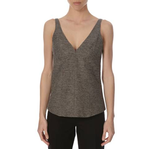 Joseph Grey Gloria Tweed Top
