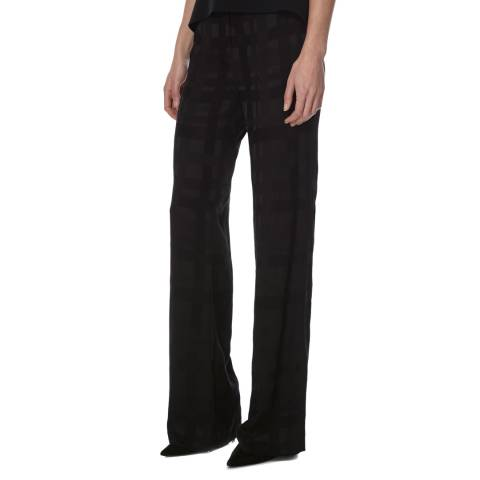 Joseph Black Jagger Abstract Jacquard Trousers