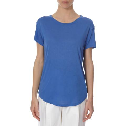 Joseph Blue Basic T Shirt