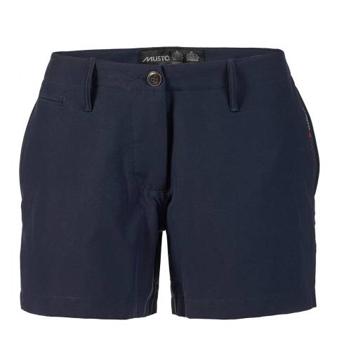 Musto Women's Navy 4 Pocket Shorts