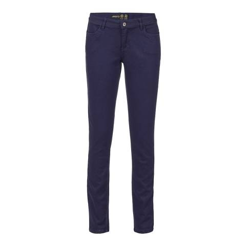 Musto Women's Blue Carolina Long Leg Trousers
