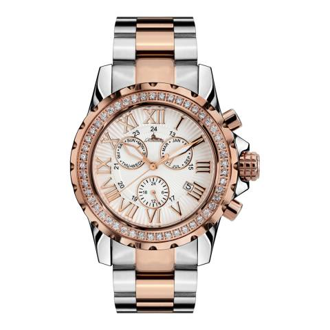 Richtenburg Women's Silver/Rose Gold Stainless Steel Romantica Watch