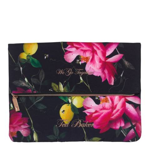 Ted Baker Black Citrus Bloom Laundry Bags