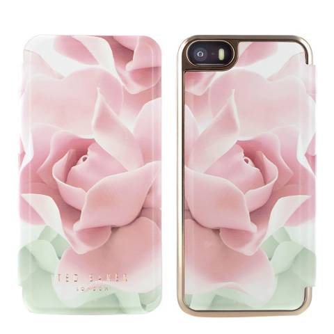 87029fc0d Porcelain Rose Folio Iphone 5 5S Se Case - BrandAlley