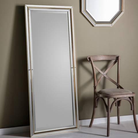 Gallery Gold Vogue Leaner Mirror 151x62cm