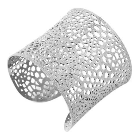 Amrita Singh Silver Bracelet Filigree Cuff