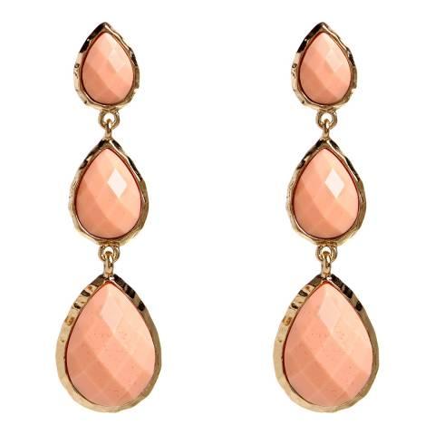 Amrita Singh Peach East Hampton Earrings